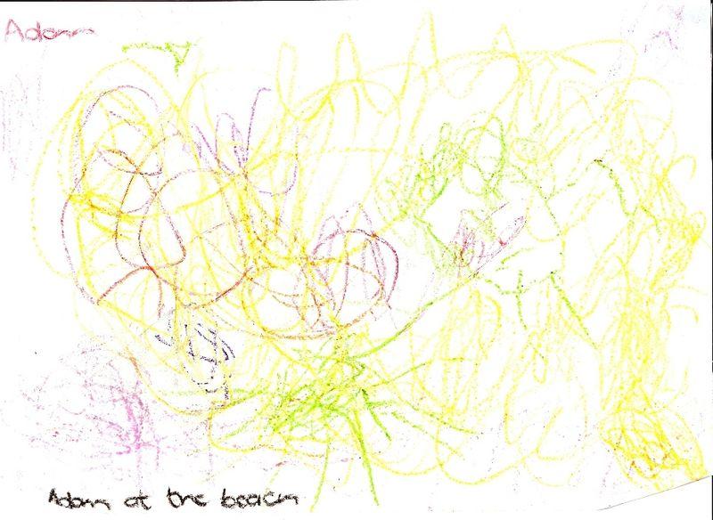 Adam drawing
