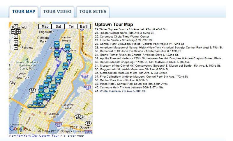 Uptown tour