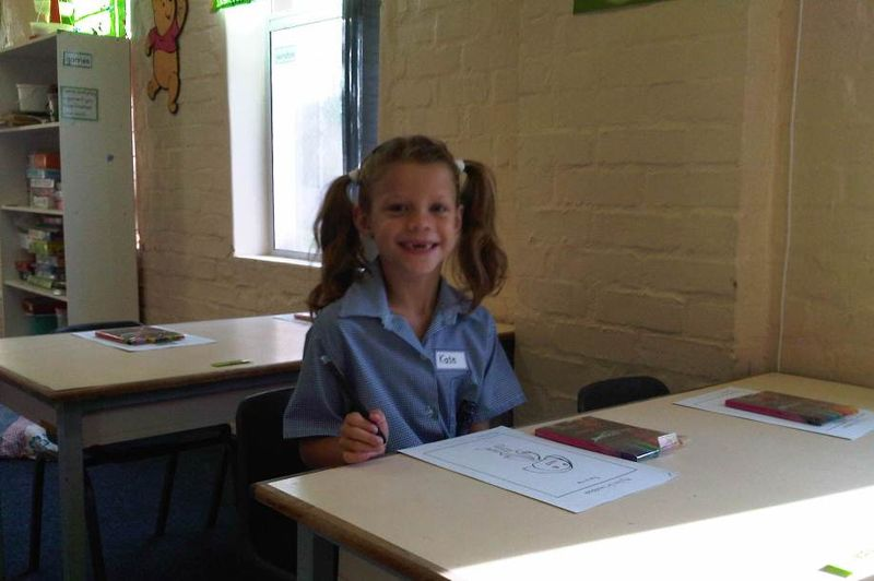 Kate school day 1