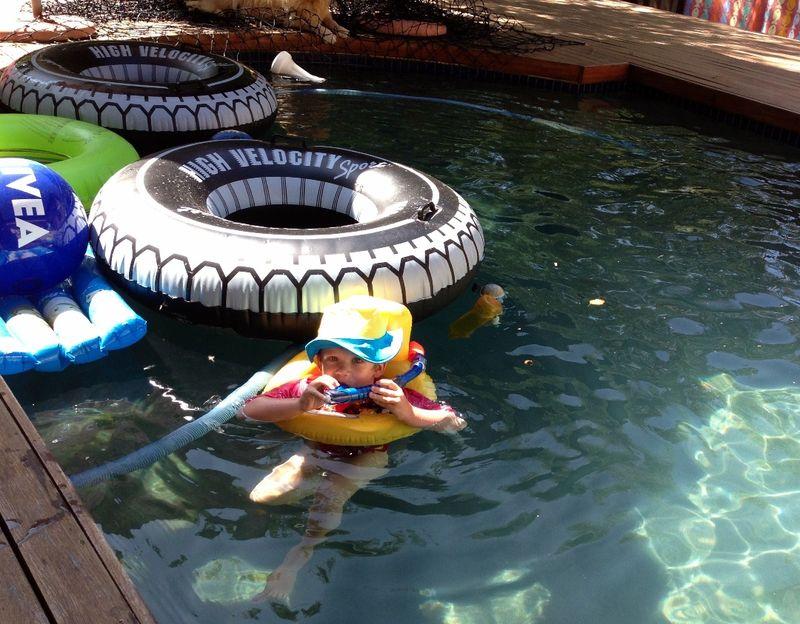 Max swimming1